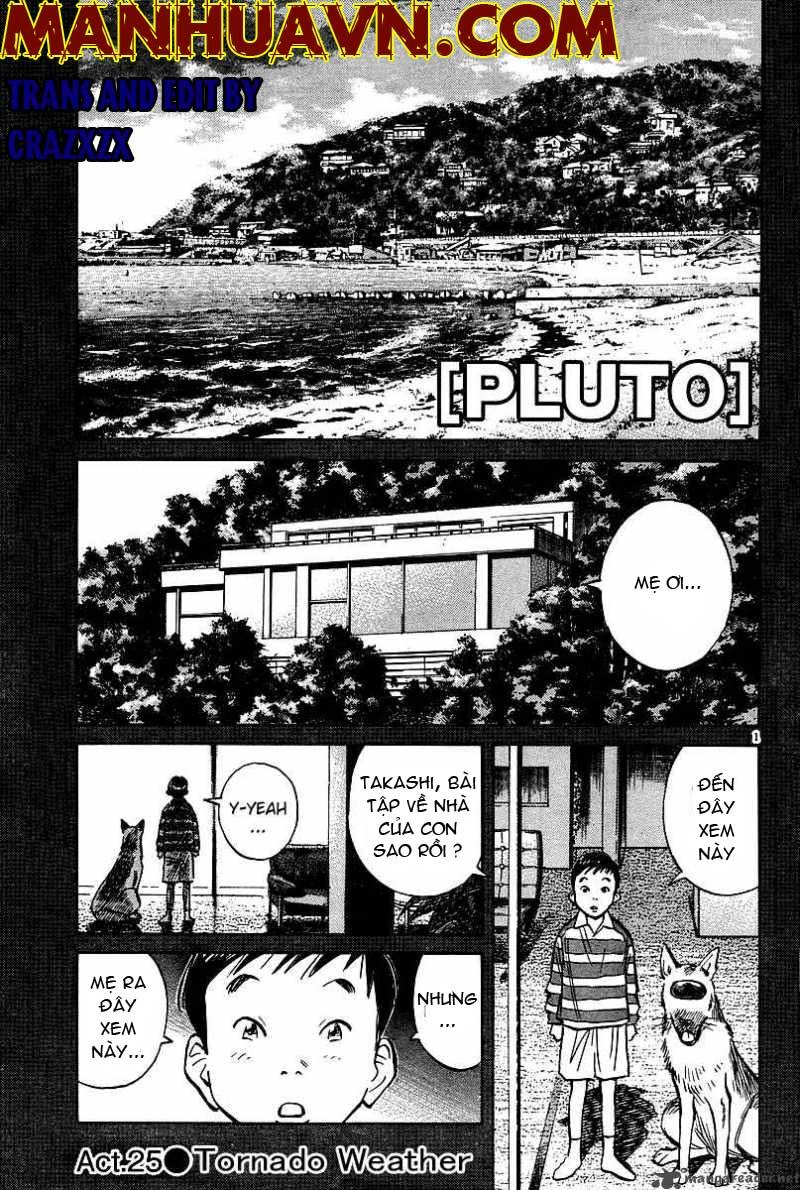 Pluto chapter 25 trang 2