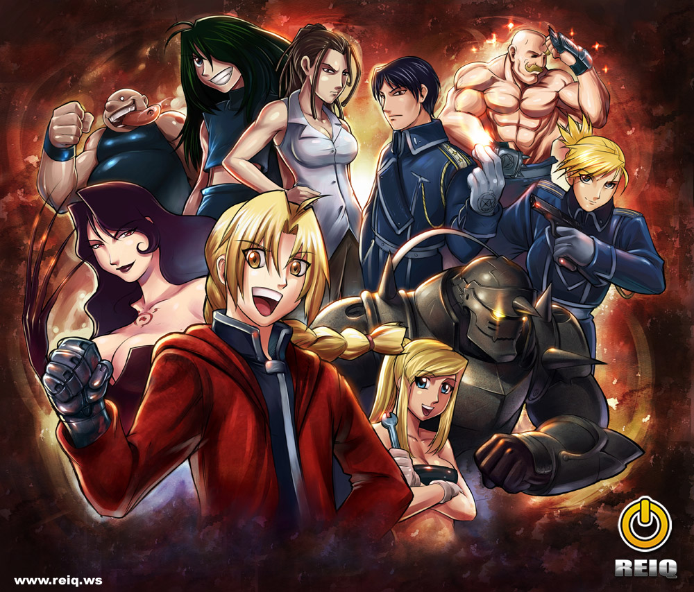 K Anime Wallpaper Fullmetal Alchemist Brotherhood Wallpapers Wallpaperholic