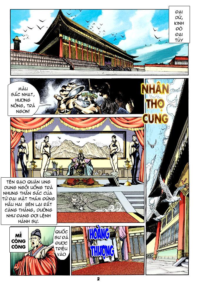 Đại Đường Uy Long chapter 32 trang 2
