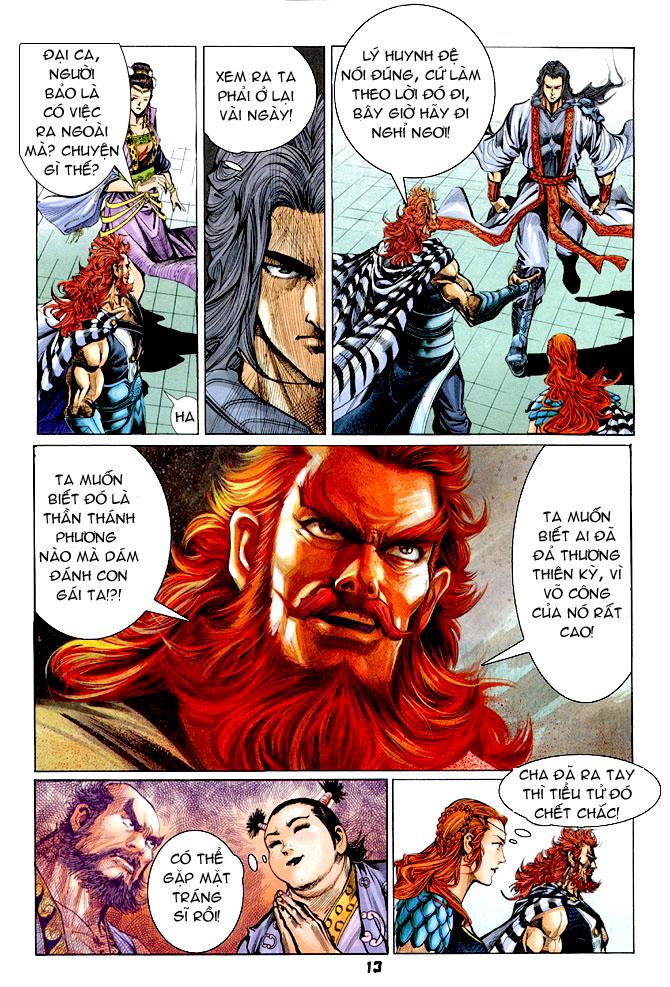Đại Đường Uy Long chapter 31 trang 12