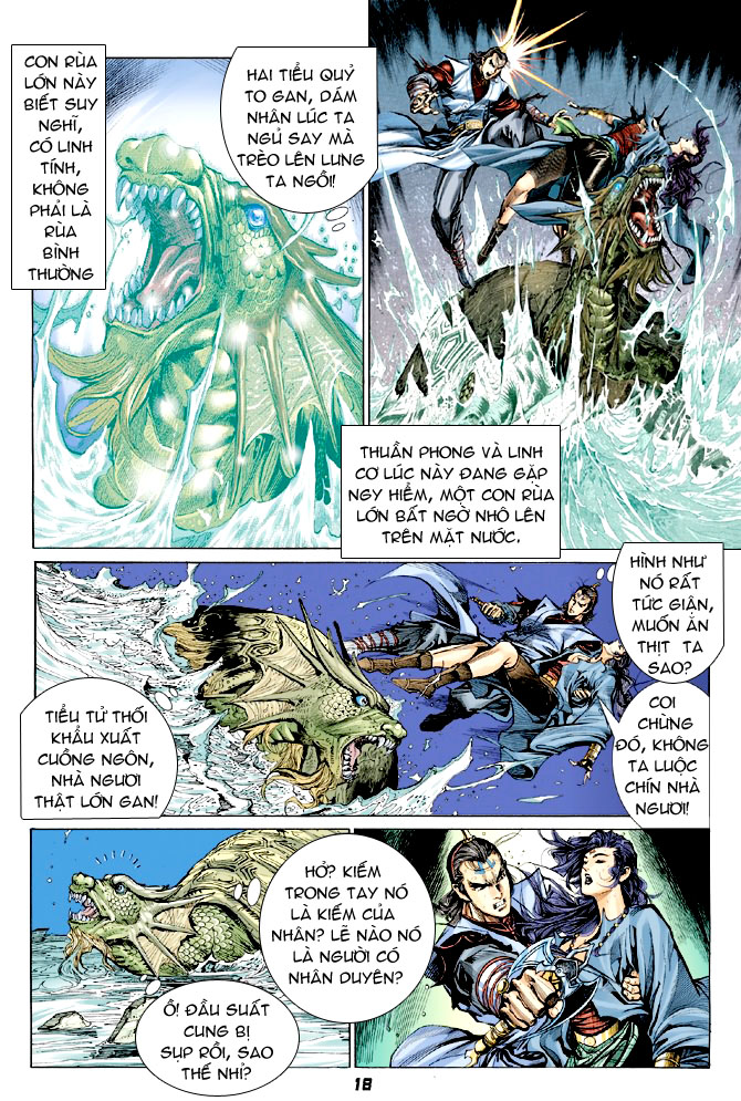 Đại Đường Uy Long chapter 31 trang 17