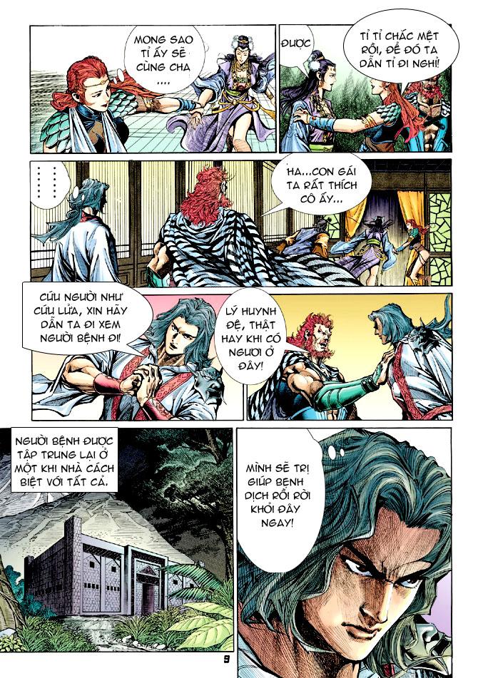 Đại Đường Uy Long chapter 31 trang 8