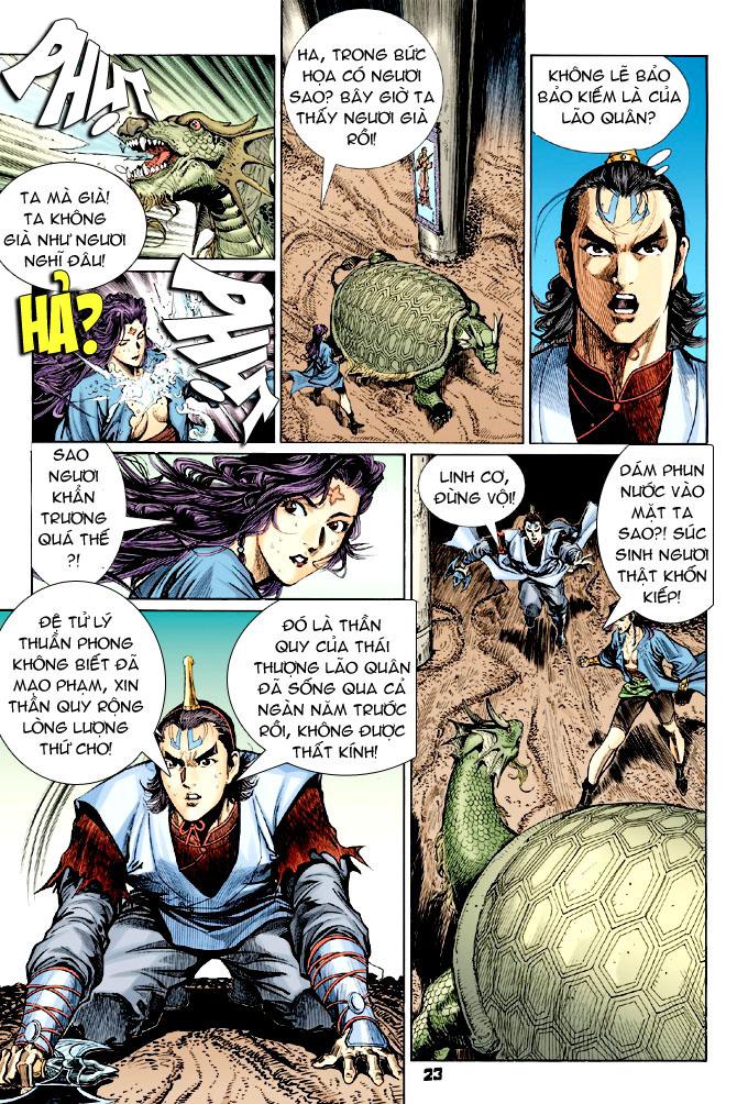 Đại Đường Uy Long chapter 31 trang 22