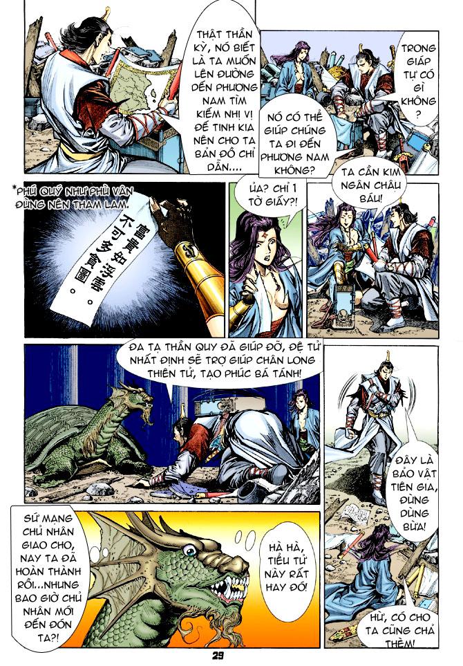 Đại Đường Uy Long chapter 31 trang 28