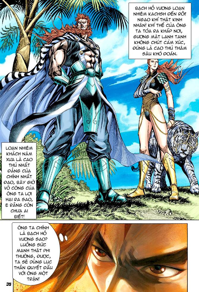 Đại Đường Uy Long chapter 31 trang 34