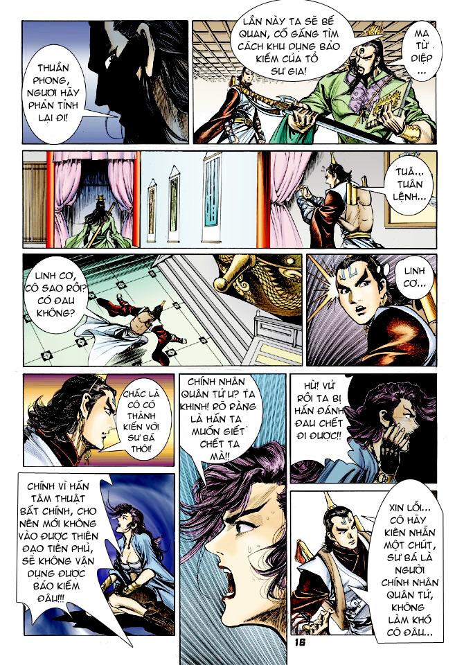 Đại Đường Uy Long chapter 25 trang 15