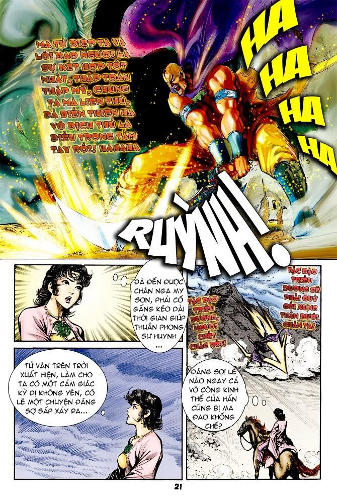 Đại Đường Uy Long chapter 23 trang 21