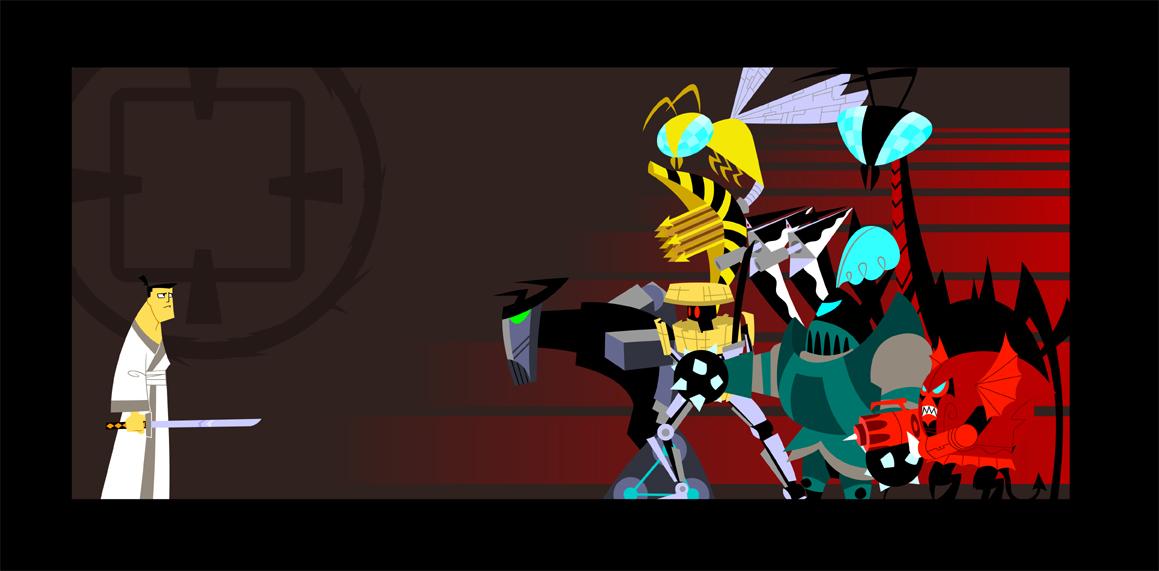 ZeR0 Samurai Jack Art