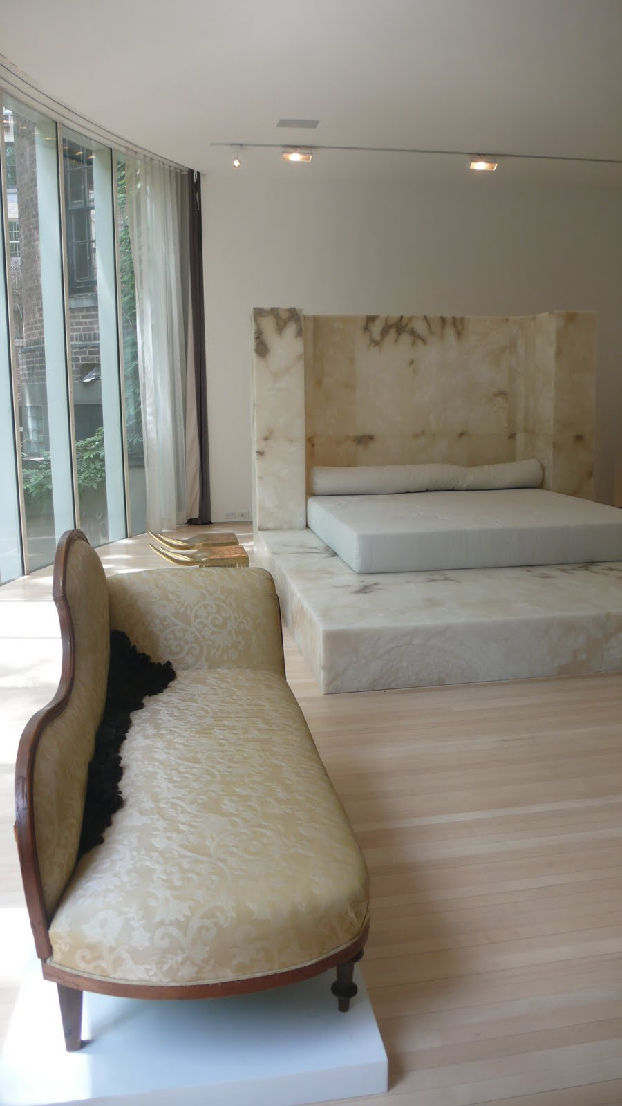 Marble Bedroom: MANHATTAN DAILY PHOTO: MARBLE BEDROOM