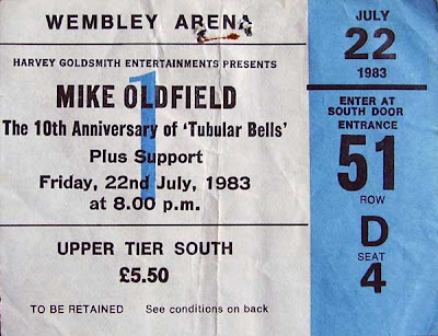 Mike Oldfield Bootleg The 10th Anniversary Of Tubular Bells