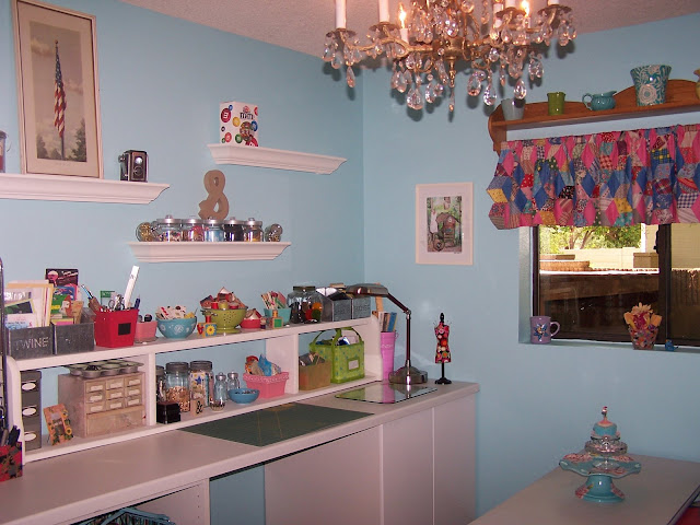 Craft Room Makeovers: Reminisce...: Craft Room Makeover
