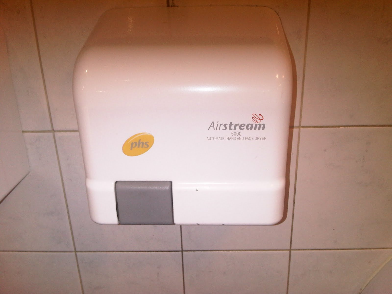 The Hand Dryers Of Great Britain Phs Airstream 5000