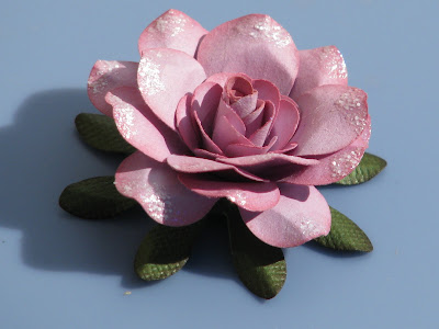 Flowers For Mothers Sweet Paper Rose Tutorial Kids Craft Ideas