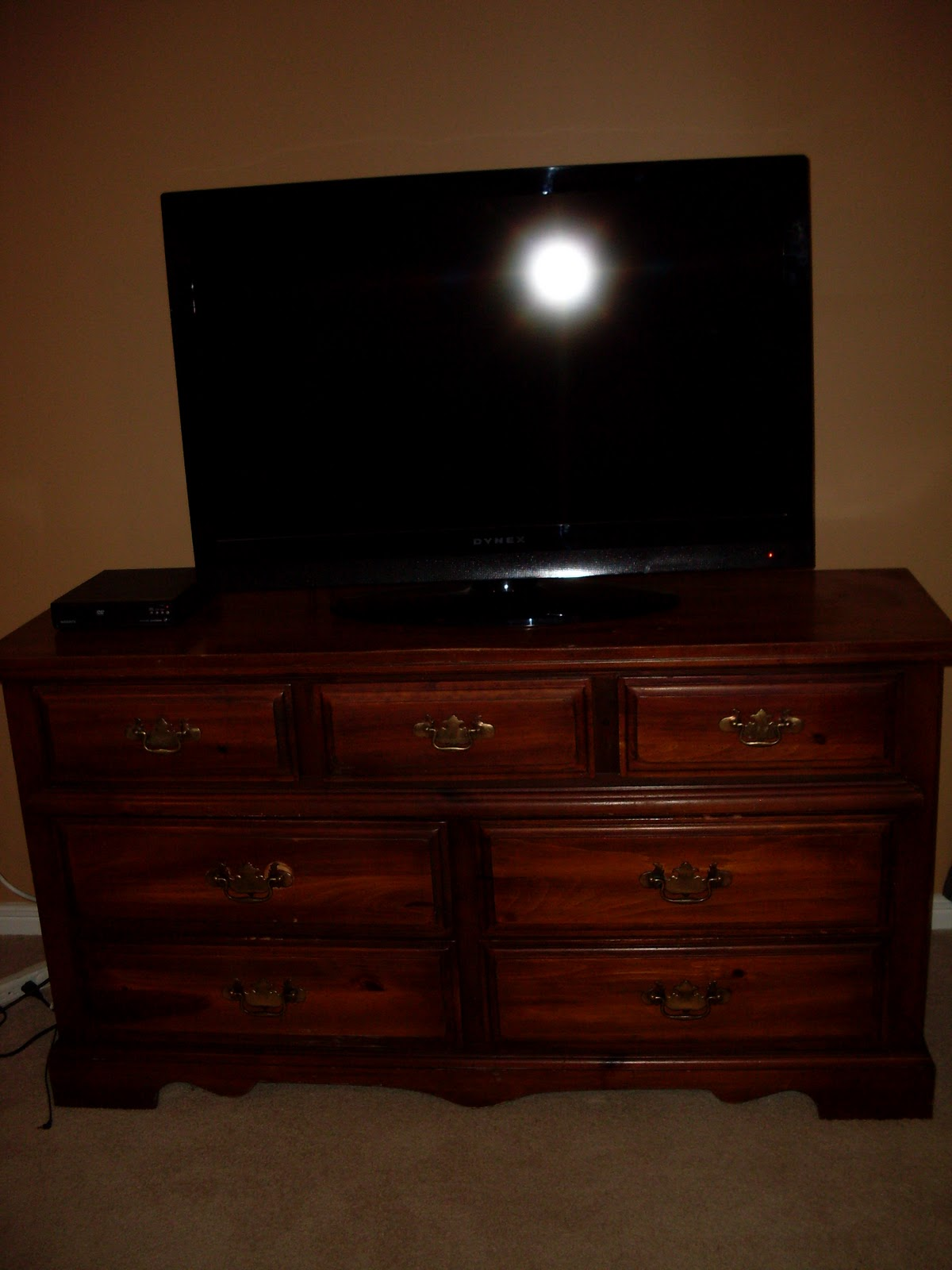 Jennifer Lunday Idea Use A Dresser As A Tv Stand