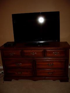 Jennifer Lunday Idea Use A Dresser As A Tv Stand