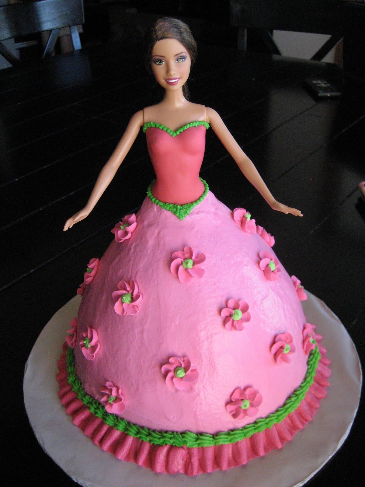 Ashley S Cakery Barbie Cake