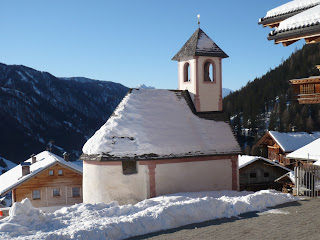 Die Kapelle in Ampfertal