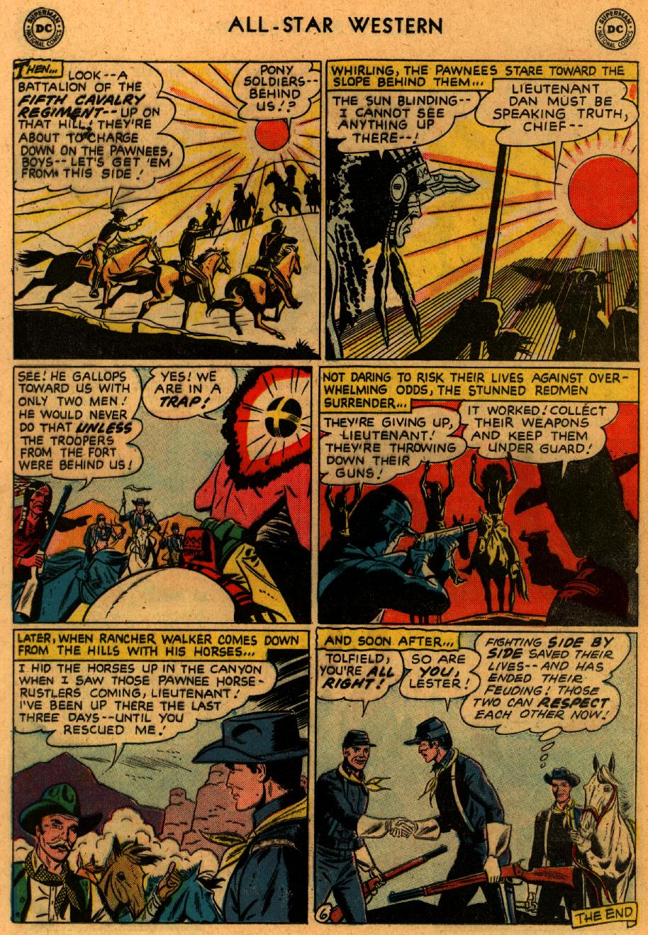 Read online All-Star Western (1951) comic -  Issue #102 - 20