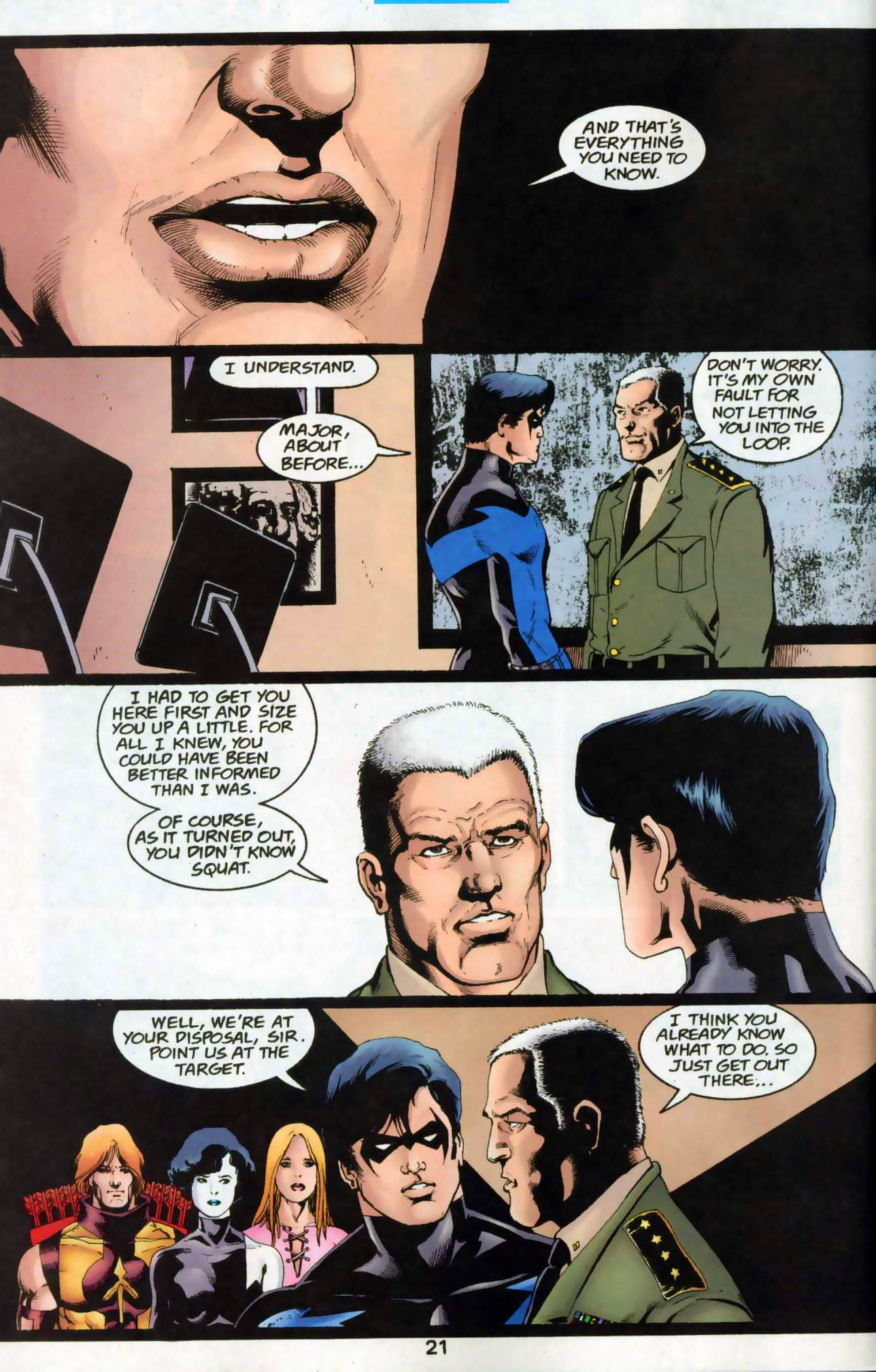 Read online The Titans (1999) comic -  Issue #48 - 22