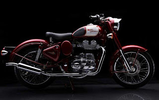 Royal Enfield Bullet Classic 500.