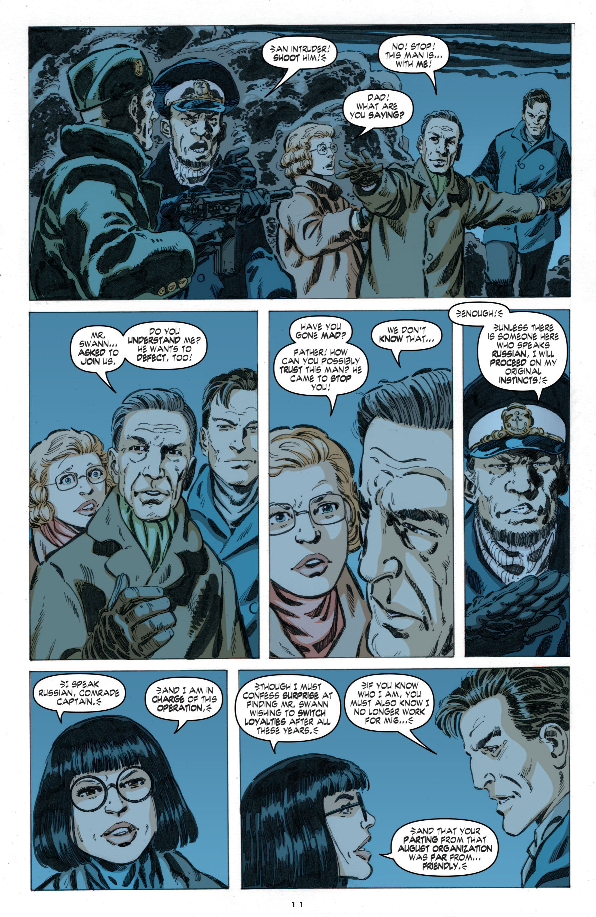 Read online Cold War comic -  Issue # TPB - 69