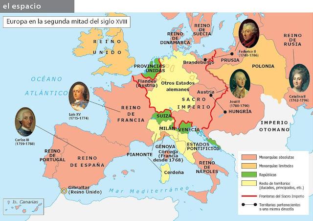 Resultado de imagen de el siglo xviii la crisis del antiguo regimen