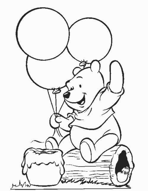 Disney Soul Dibujos Para Colorear De Winnie The Pooh Y Sus Amigos