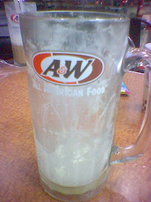 Root Beer... + float