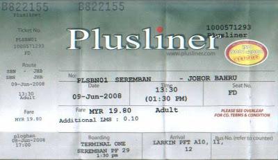 Tiket Plusliner