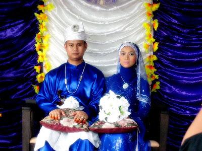 Selamat Pengantin baru buat Mazlan & Wife