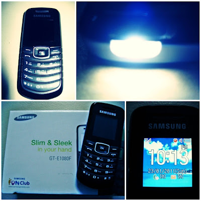 Samsung GT-E1080F - Basic Function