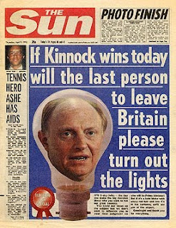 Does The Sun really win or lose elections?