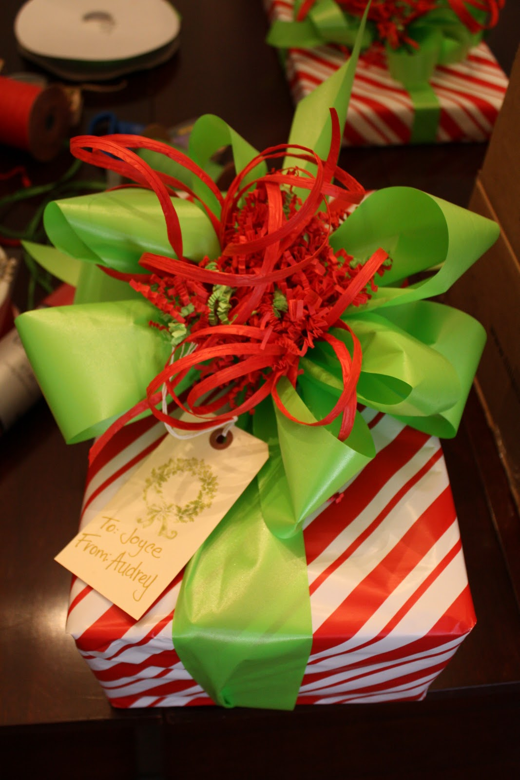Our Southern Nest: Christmas Gift Wrapping Party