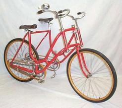 The Fowlerville Observer: 1896 Side-By-Side Bicycle