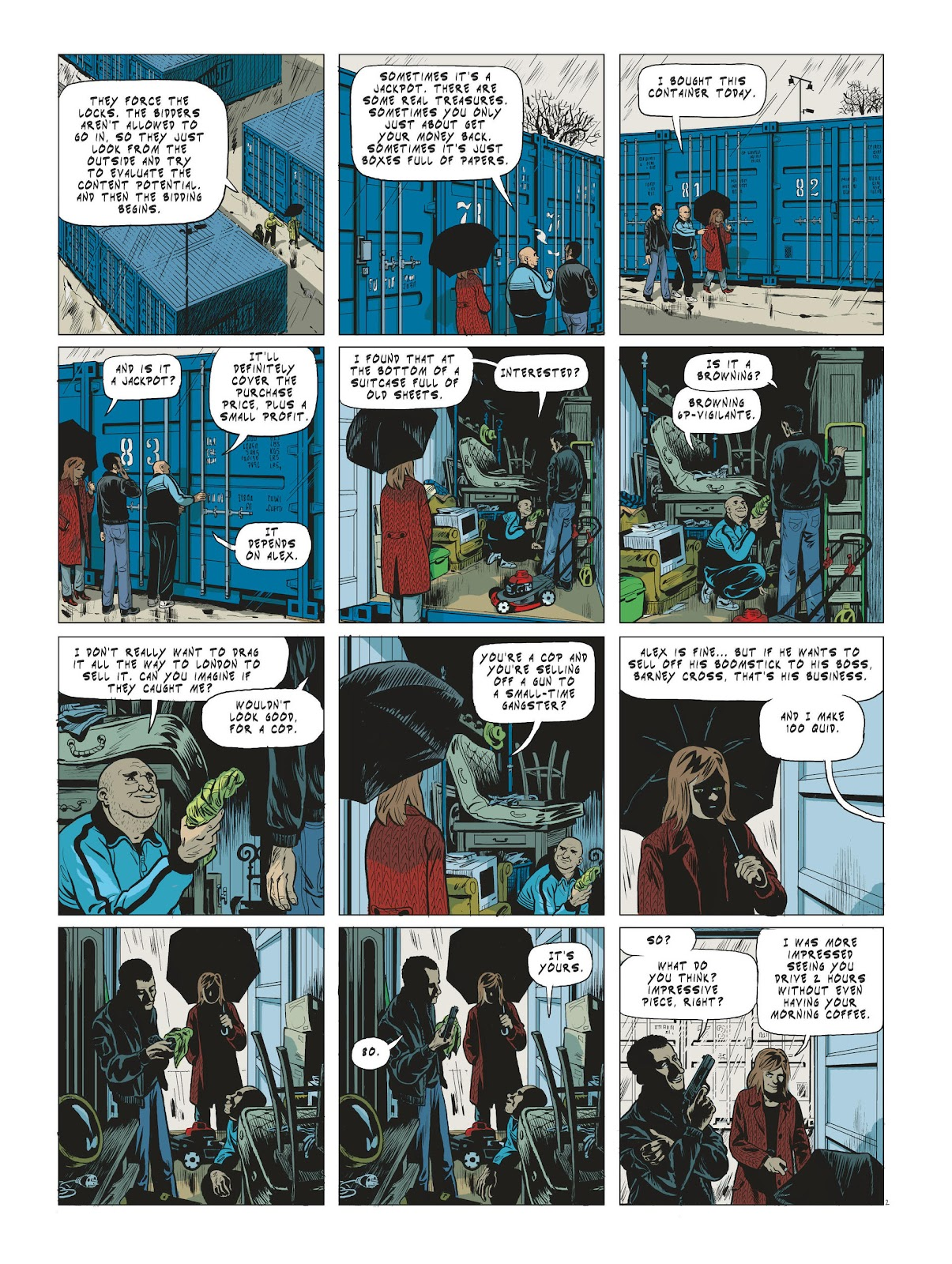 Read online Maggy Garrisson comic -  Issue #3 - 4
