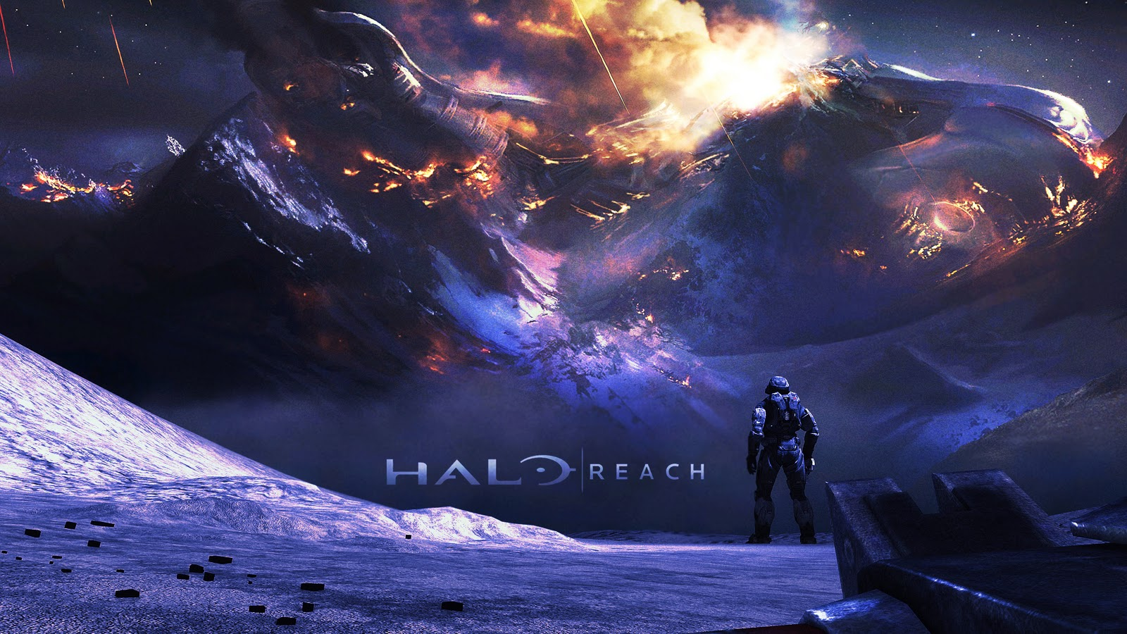 hd halo wallpapers