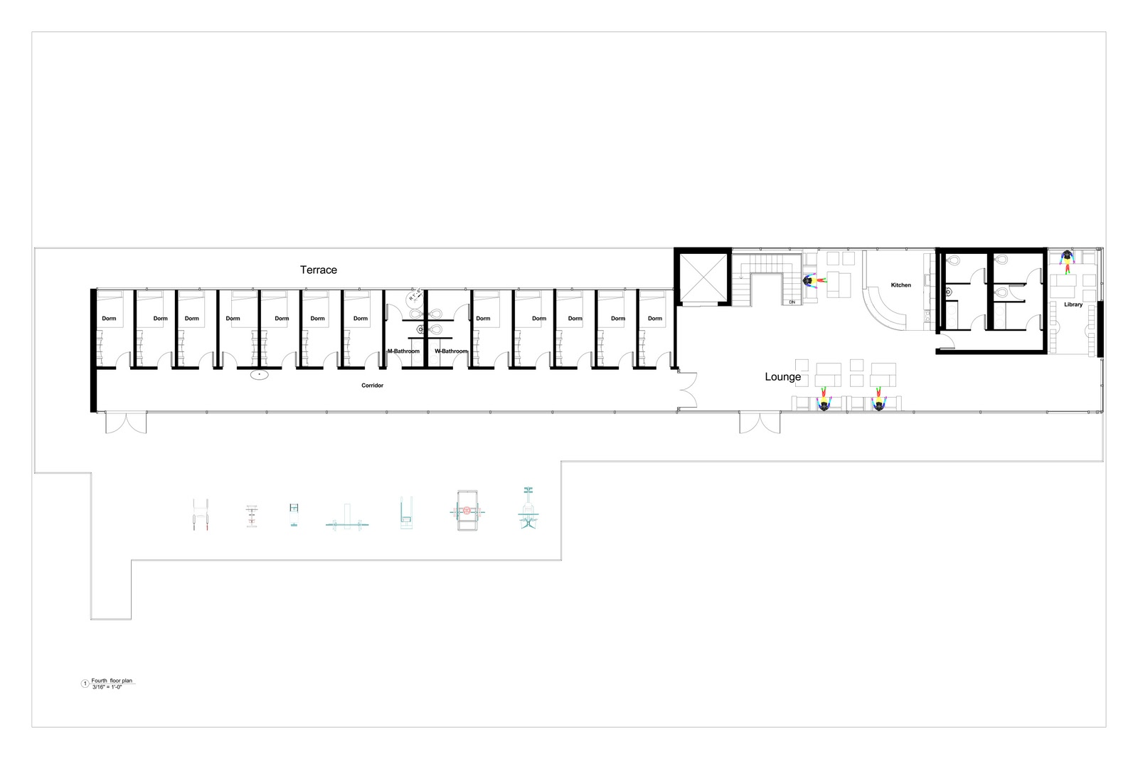 Arch3611 Theoretical Design Fire Station Floor PlansProposed – Fire Station Floor Plans