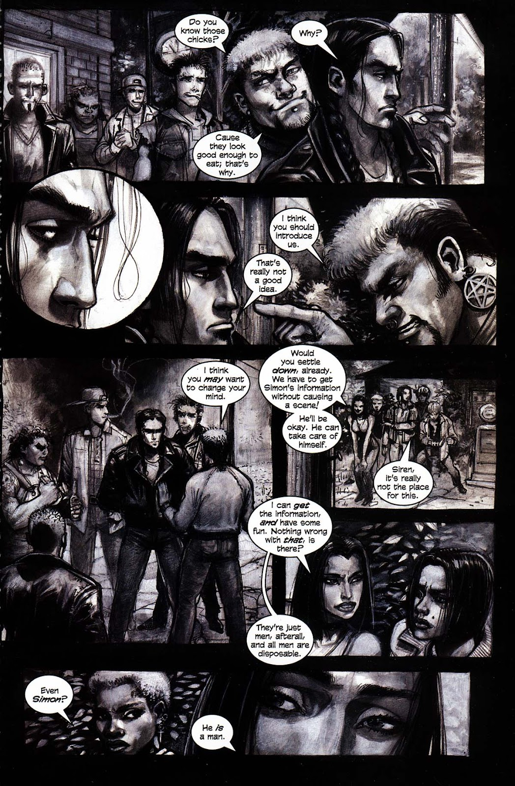 Read online Werewolf the Apocalypse comic -  Issue # Black Furies - 13