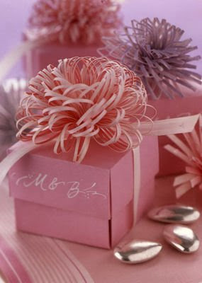 fringed paper gift topper