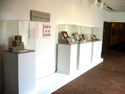 quilling exhibit - Brandywine River Museum of Art