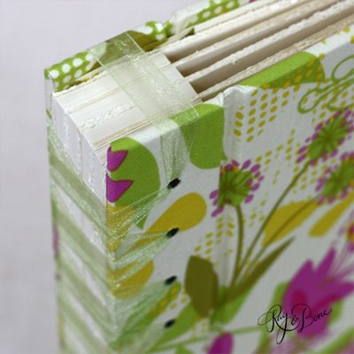 ribbon bound book