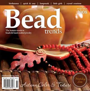 autumn bead trends magazine cover
