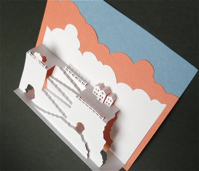 pop up card construction