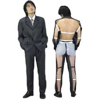 I am not sure why you would need one of these even for a Halloween costume it is odd! Maybe like a mullet- business in the front party in the back?  sc 1 st  A Rinkya Blog & Half Suit Makes No Sense! - A Rinkya Blog