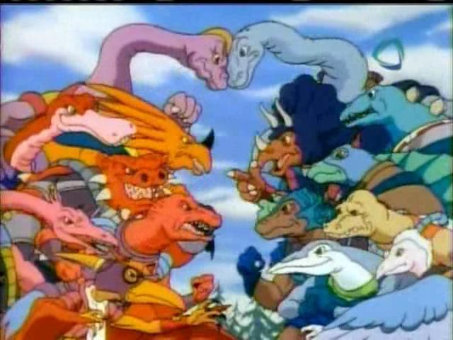 5 Dibujos De Los 90 Sobre Dinosaurios Que Seguro Veias El Mendo