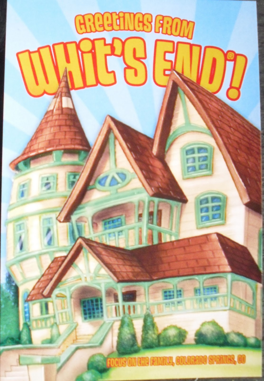 Postcards for Sam: Whit's End!