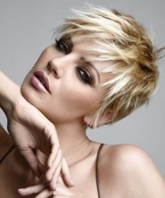 Trend Short Blonde Hairstyles 2010 New Style Trend Short Blonde Hairstyles