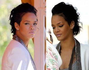 Pleasing African American Haircuts Photos 2012 Singer Rihanna39S Short Short Hairstyles For Black Women Fulllsitofus