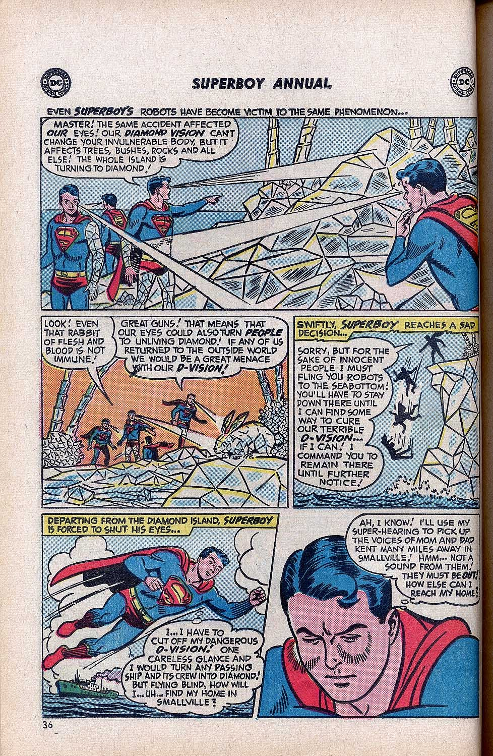 Superboy (1949) issue Annual 1 - Page 38
