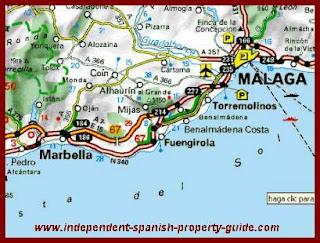 mapa de espanha benalmadena O Diário das Minhas Viagens: Espanha (Fuengirola, Mijas, Benalmádena) mapa de espanha benalmadena